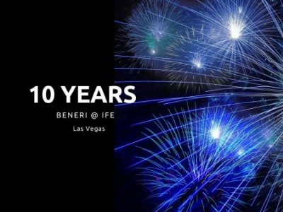 BENERI festeggia a Las Vegas 10 anni di IFE: Immagine